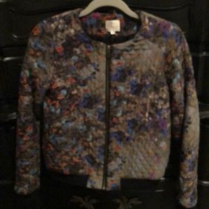 Parker quilted zip up jacket!!